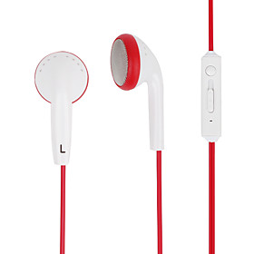Kanen Professional Earphone with Volume Control and Microphone for iPhone, iPad  Other Cellphone