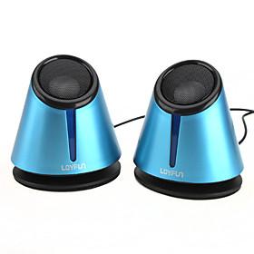 Stylish 3D Sound Hi-fi PC USB Laptop Speaker