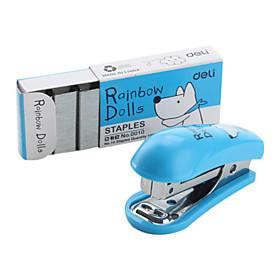 Cartoon Pattern Mini Stapler with Staples Set (Random Color)
