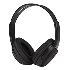 Wireless Bluetooth Stereo Headband Headphone-Black