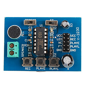 ISD1820 Sound Voice Board (Recording and Playback Module)