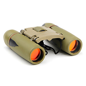 30 x 60 High-Performance SAKURA Binoculars with Rubber Cover (Green)