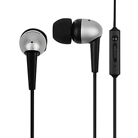 Earphone with Volume Control and Microphone for iPhone, iPad  Other Cellphone