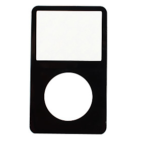 NEW Black Front Cover Panel for iPod Video