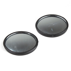 Convex Wide Angle Car Blind Spot Mirror 54mm (2-Pack)