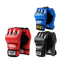 Short Finger Boxing Gloves 10oz (Random Colors)