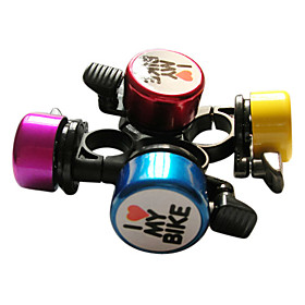 I LOVE MY BIKE Bicycle Bell (Assorted Colors)