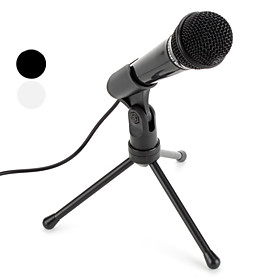 Premium Desktop Microphone (3.5mm, Assorted Colors)