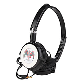 High Quality Bat Stereo Headband Headphones (3.5mm Jack/1.2m Cable)