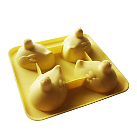 Funny Hen Shaped Silicone Ice Tray Mold