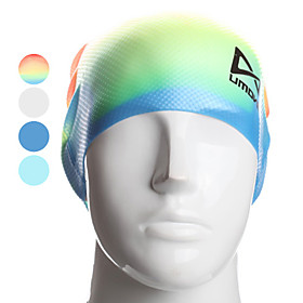 MODOCO Anti-slip Silione Swim Cap (Assorted Colors)