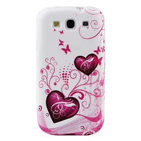 Colorful Lovely Heart Pattern TPU Case for Samsung Galaxy S3 I9300 (Multi-Color)