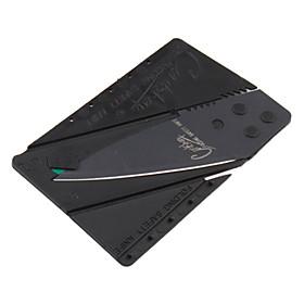 Credit Card Shape Folding Knife (Black)