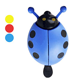 Bicycle Ladybug-Shape Bell (3 Colors)