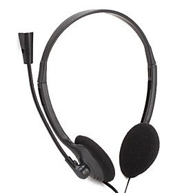 Slim Multimedia Stereo PC Headset with Mic