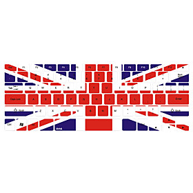 Union Jack Pattern Keyboard Cover for 13 15 Macbook Pro