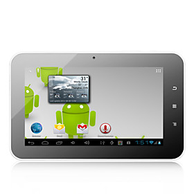 Sirius 2 - Android 4.0 Tablet with 7 Inch Capacitive Screen (4GB,WiFi, 1GHz, Camera)