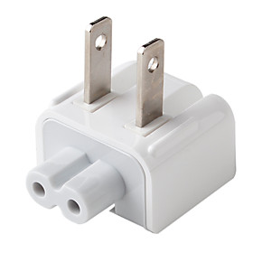 US AC Plug for Macbook Air Pro (White)