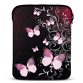 Butterfly Neoprene Tablet Sleeve Case for 10