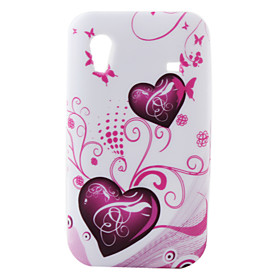 Colorful Lovely Heart Pattern for Samsung Galaxy Mini S5830(Multi-Color)