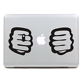 Fist Pattern Protect Skin Sticker for 11 13 15 Macbook Air Pro