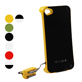 Backup Power Supply for iPhone 4 and 4S(1800mAh, Assorted Colors)