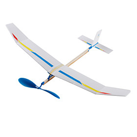 SkyTouch EP0004 Rubber Powered Helicopter Assembly Toy
