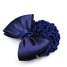 Gorgeous Cotton Bow Bun Hairnet