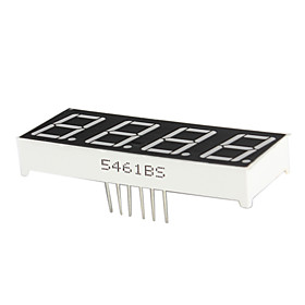 0.56 Inch 4 Digit Led Dynamic Display Anode (Red)