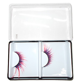 1 Pair Fashion Feather False Eyelash