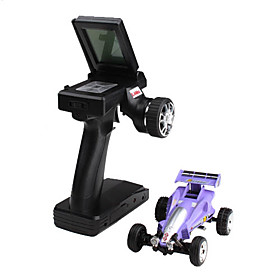 2209-4 Full Directional Steering 2.4G 1:43 Racing Car with LCD Screen Remote Controller