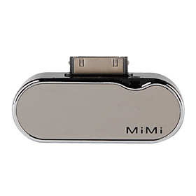 MiMi Power Bank Emergency Battery for iPhone and iPod (Black, 1200mAh)