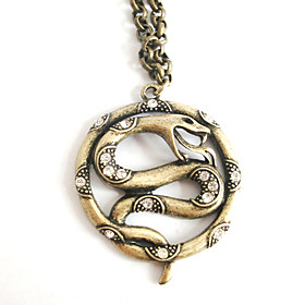 High Quality Alloy With Snake Shaped Women's Necklace
