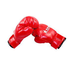 Leather Full Finger Wearable Boxing Gloves