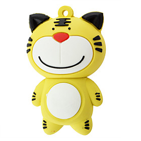4 GB Tiger Shaped USB 2.0 Flash Drive