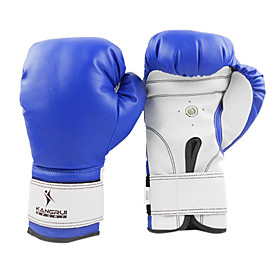 Leather Full Finger Professional Boxing Gloves