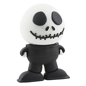 4 GB Skull Shaped USB 2.0 Flash Drive