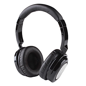 Wireless Bluetooth Hi-Fi Stereo Noise-Reduction Headset with Mic