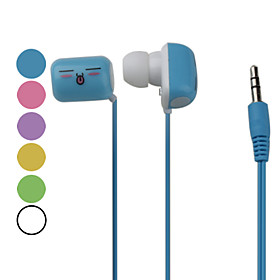 Marshmallow Design In-Ear Earphones (Assorted Colors)