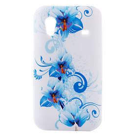 Flower Pattern Soft TPU Back Protective Case for Samsung Galaxy Mini S5830(Multi-Color)