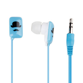 Magician In-Ear Earphones with Extra Earbuds (Blue)