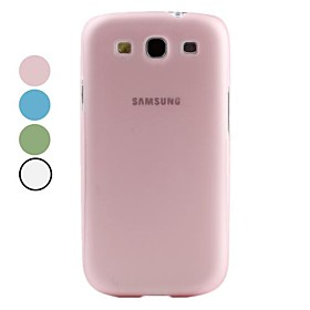 Ultra-Slim Dull Polish Plastic Case for Samsung Galaxy S3 I9300 (Assorted Colors)