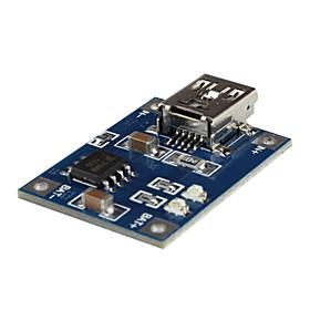 Mini USB 1A Lithium Battery Charging Board