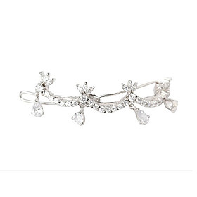 Elegant Alloy With Rhinestone Wedding/Special Occasion Barrette/Headpiece