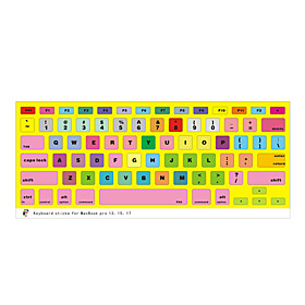 Different Design Keyboard Cover for 13 15 Macbook Pro