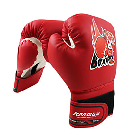 High Quality Leather Full Finger Kid's Boxing Gloves
