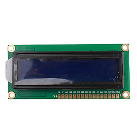 1602 16 x 2 HD44780 Character LCD Display Module (LCM blue backlight)
