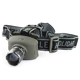 High Power 3-Mode Zooming Cree Q5 LED Headlamp (3xAAA)