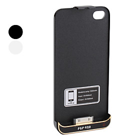 Backup Power for iPhone 4 and 4S (1500mAh, Assorted Colors)