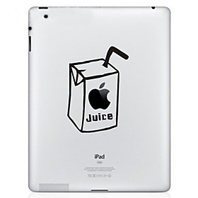Juice Pattern Protective Sticker for The New iPad and iPad 2
